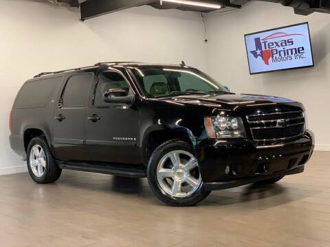 2007 Chevrolet Suburban for sale at Texas Prime Motors in Houston TX