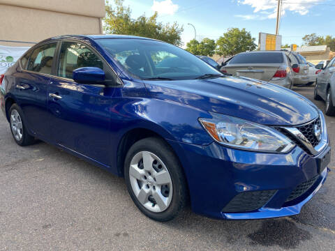 2018 Nissan Sentra for sale at GO GREEN MOTORS in Lakewood CO