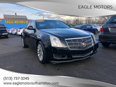 2008 Cadillac CTS for sale at Eagle Motors in Hamilton OH