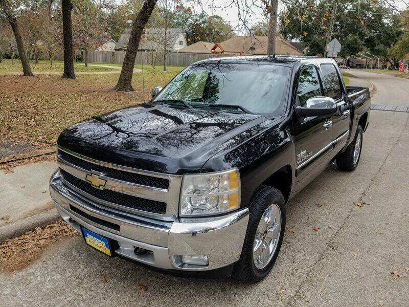 2011 Chevrolet Silverado 1500 for sale at Amazon Autos in Houston TX