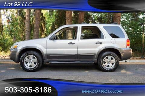 2006 Ford Escape for sale at LOT 99 LLC in Milwaukie OR