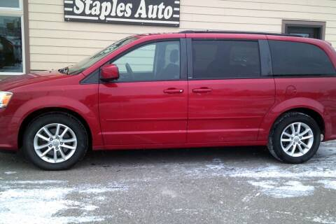 2013 Dodge Grand Caravan for sale at STAPLES AUTO SALES in Staples MN