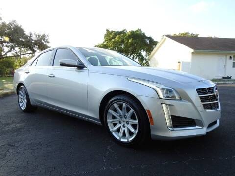 2014 Cadillac CTS for sale at SUPER DEAL MOTORS 441 in Hollywood FL