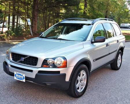 2004 Volvo XC90 for sale at Weaver Motorsports Inc in Cary NC