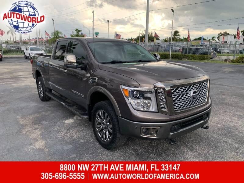 2018 Nissan Titan XD for sale in Miami, FL