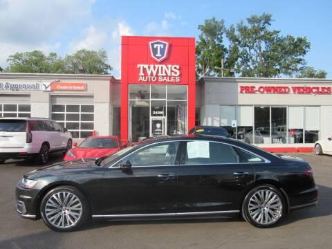 2019 Audi A8 L for sale at Twins Auto Sales Inc in Detroit MI