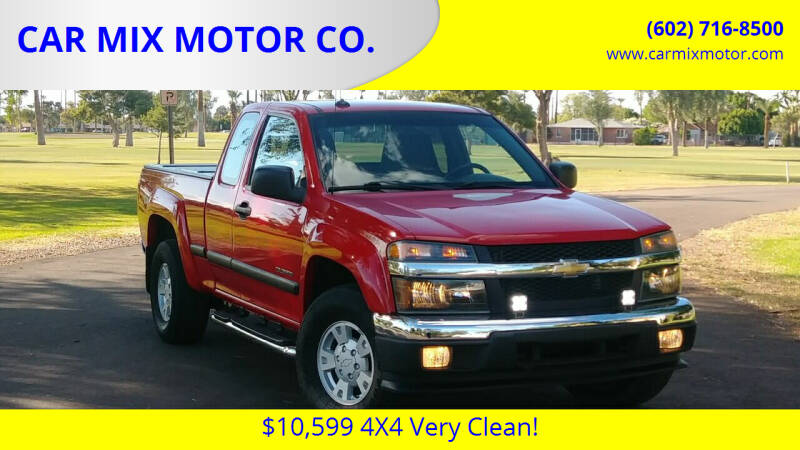 2005 Chevrolet Colorado for sale at CAR MIX MOTOR CO. in Phoenix AZ