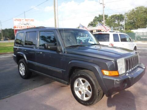 2007 Jeep Commander for sale at LEGACY MOTORS INC in New Port Richey FL