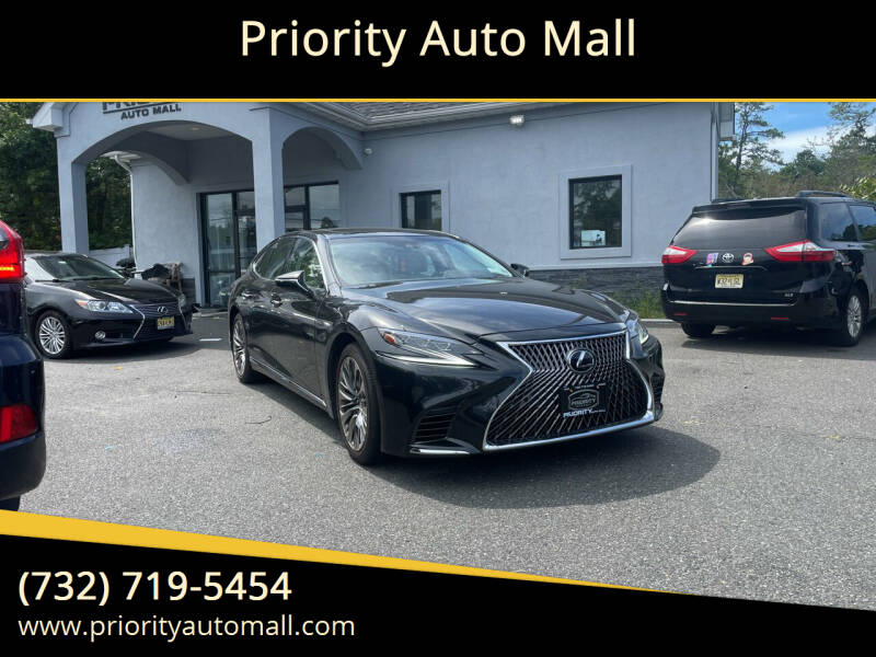 2018 Lexus LS 500 for sale at Mr. Minivans Auto Sales - Priority Auto Mall in Lakewood NJ
