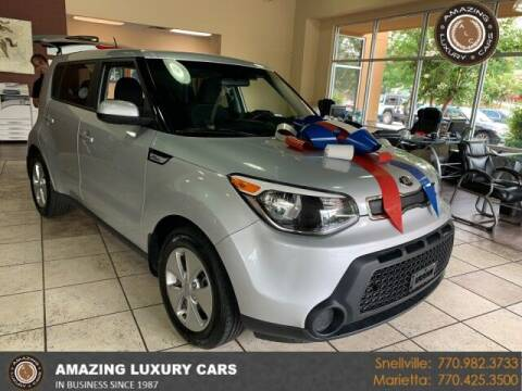 2016 Kia Soul for sale at Amazing Luxury Cars in Snellville GA