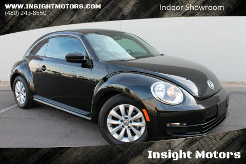 2015 Volkswagen Beetle for sale at Insight Motors in Tempe AZ