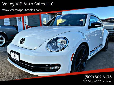 2012 Volkswagen Beetle for sale at Valley VIP Auto Sales LLC in Spokane Valley WA