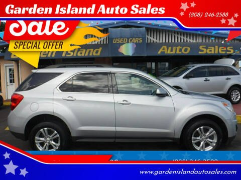 2015 Chevrolet Equinox for sale at Garden Island Auto Sales in Lihue HI