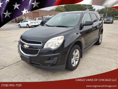 2011 Chevrolet Equinox for sale at Cargo Vans of Chicago LLC in Mokena IL