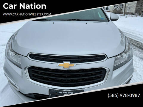 2016 Chevrolet Cruze Limited for sale at Car Nation in Webster NY