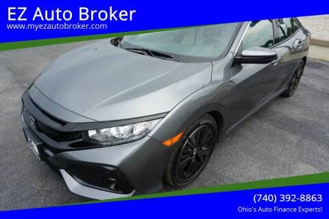2018 Honda Civic for sale at EZ Auto Broker in Mount Vernon OH