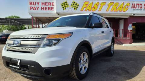 2013 Ford Explorer for sale at Fast Trac Auto Sales in Phoenix AZ