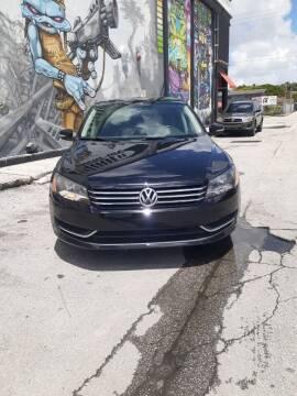 2013 Volkswagen Passat for sale at Rosa's Auto Sales in Miami FL