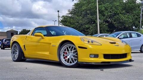 2007 Chevrolet Corvette for sale at CarXpress in Fredericksburg VA