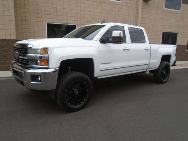 2015 Chevrolet Silverado 2500HD for sale at COPPER STATE MOTORSPORTS in Phoenix AZ