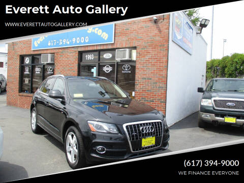 2012 Audi Q5 for sale at Everett Auto Gallery in Everett MA