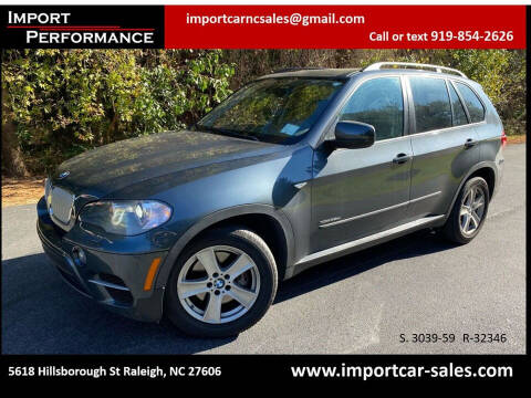 2011 BMW X5 for sale at Import Performance Sales in Raleigh NC