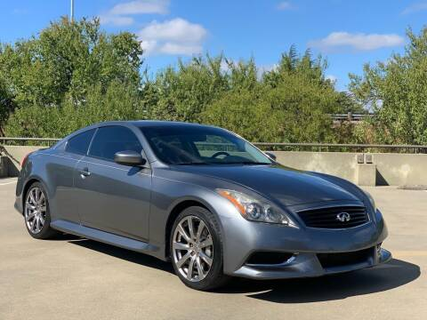 2010 Infiniti G37 Coupe for sale at AutoAffari LLC in Sacramento CA
