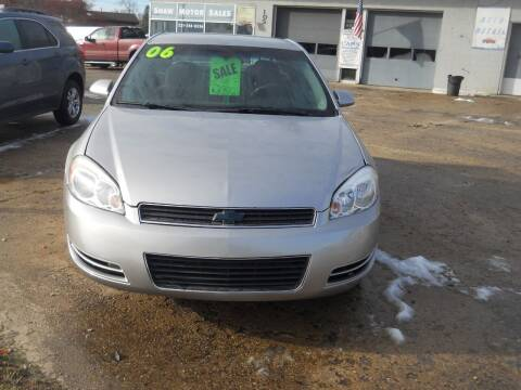 2006 Chevrolet Impala for sale at Shaw Motor Sales in Kalkaska MI