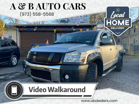 2004 Nissan Titan for sale at A & B Auto Cars in Newark NJ