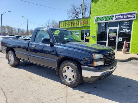 2006 Chevrolet Silverado 1500 for sale at Empire Auto Group in Indianapolis IN