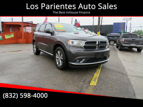 2014 Dodge Durango for sale at Los Parientes Auto Sales in Houston TX
