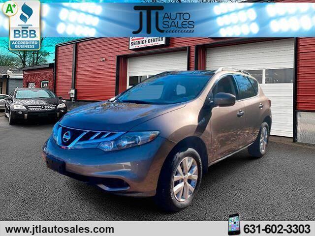 2012 Nissan Murano for sale at JTL Auto Inc in Selden NY