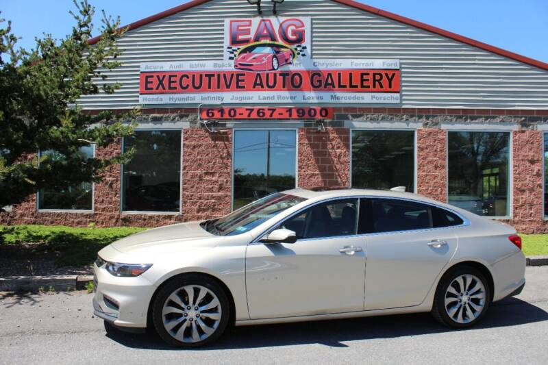 2016 Chevrolet Malibu for sale at EXECUTIVE AUTO GALLERY INC in Walnutport PA
