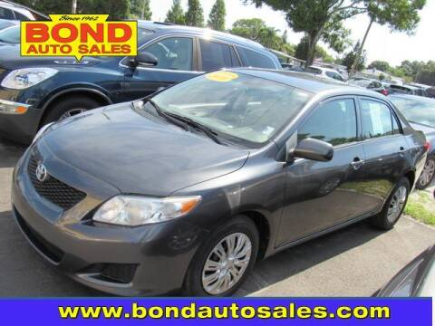 2010 Toyota Corolla for sale at Bond Auto Sales in St Petersburg FL