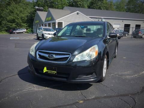 2010 Subaru Legacy for sale at 207 Motors in Gorham ME