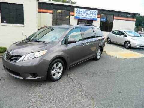 2011 Toyota Sienna for sale at S & S Motors in Marietta GA