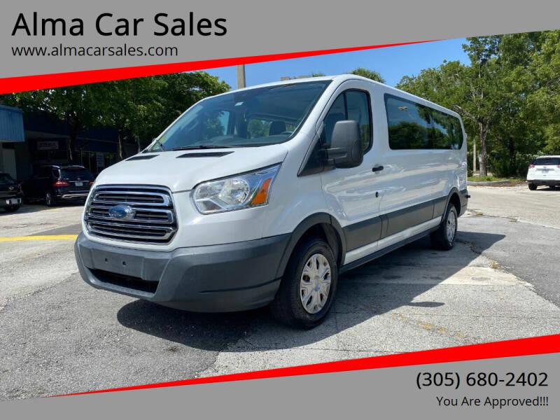 2016 Ford Transit Passenger for sale at Alma Car Sales in Miami FL