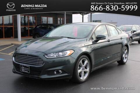2015 Ford Fusion for sale at Bening Mazda in Cape Girardeau MO
