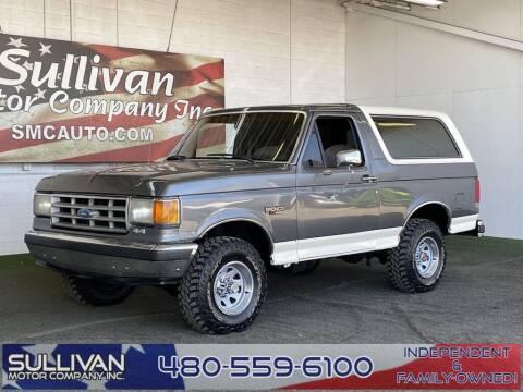 1989 Ford Bronco for sale at SULLIVAN MOTOR COMPANY INC. in Mesa AZ