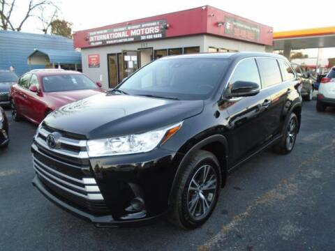 2019 Toyota Highlander for sale at International Motors in Laurel MD