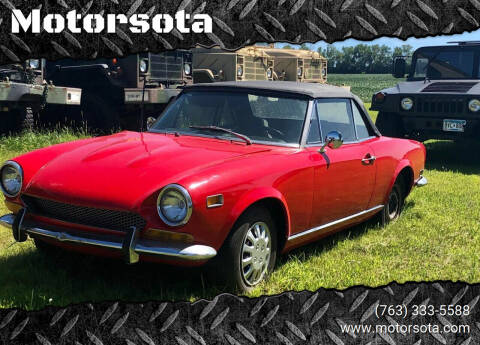 1972 FIAT Convertible 124 for sale at Motorsota in Becker MN