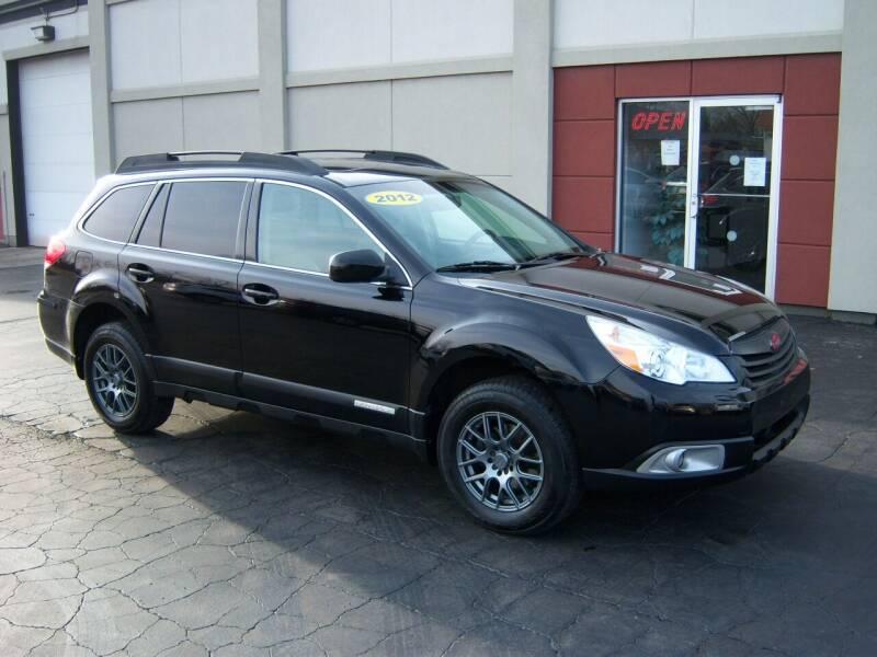 2012 Subaru Outback for sale at Blatners Auto Inc in North Tonawanda NY