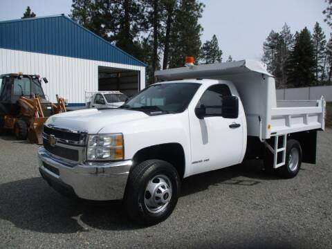 2013 Chevrolet 3500 HD DUMP BED for sale at BJ'S COMMERCIAL TRUCKS in Spokane Valley WA