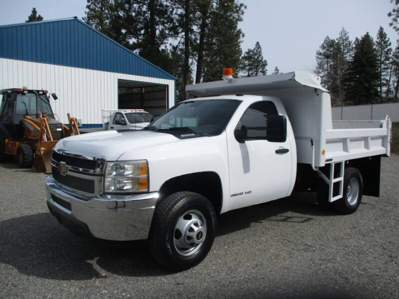 2013 Chevrolet 3500 HD DUMP BED for sale at BJ'S COMMERCIAL TRUCKS in Spokane Valley WA