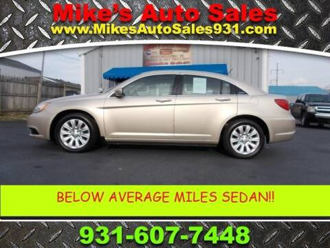 2013 Chrysler 200 for sale at Mike's Auto Sales in Shelbyville TN