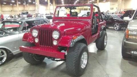 1978 Jeep CJ-7 for sale at Classic Car Deals in Cadillac MI