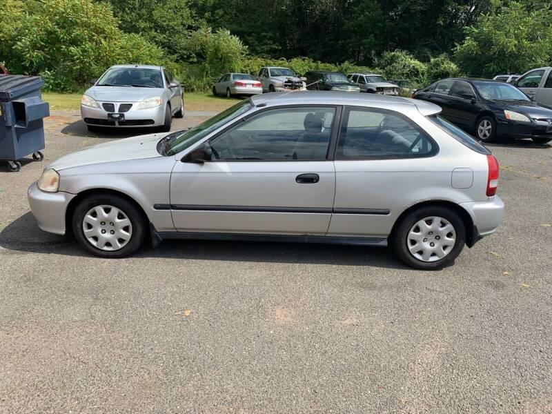2000 Honda Civic for sale at Balfour Motors in Agawam MA