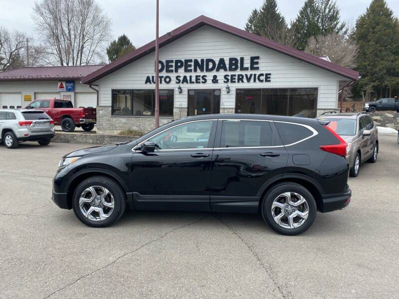2018 Honda CR-V for sale at Dependable Auto Sales and Service in Binghamton NY