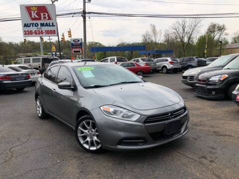 2013 Dodge Dart for sale at KB Auto Mall LLC in Akron OH