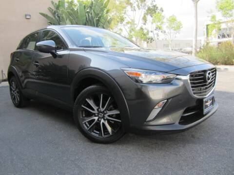 2017 Mazda CX-3 for sale at ORANGE COUNTY AUTO WHOLESALE in Irvine CA